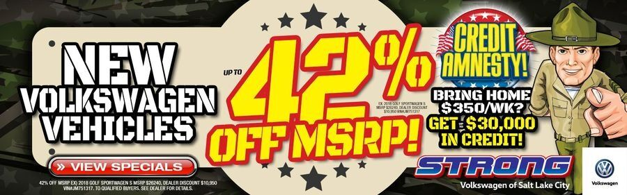 42% OFF MSRP in March!