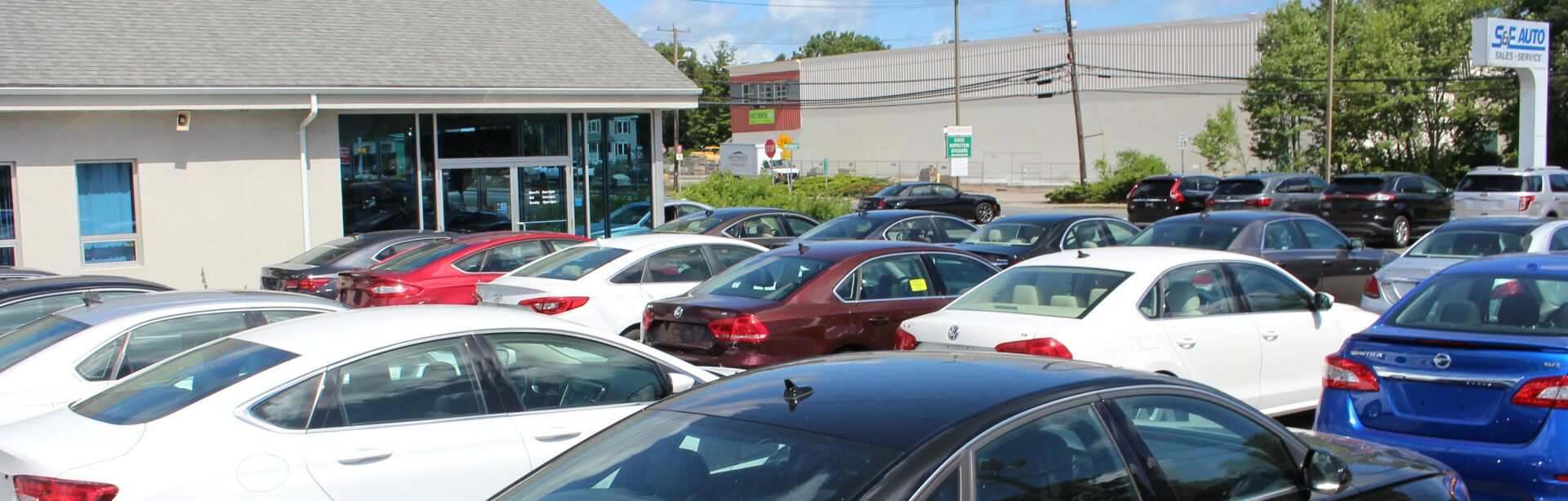 Used Car Dealership Weymouth Ma S E Auto Sales