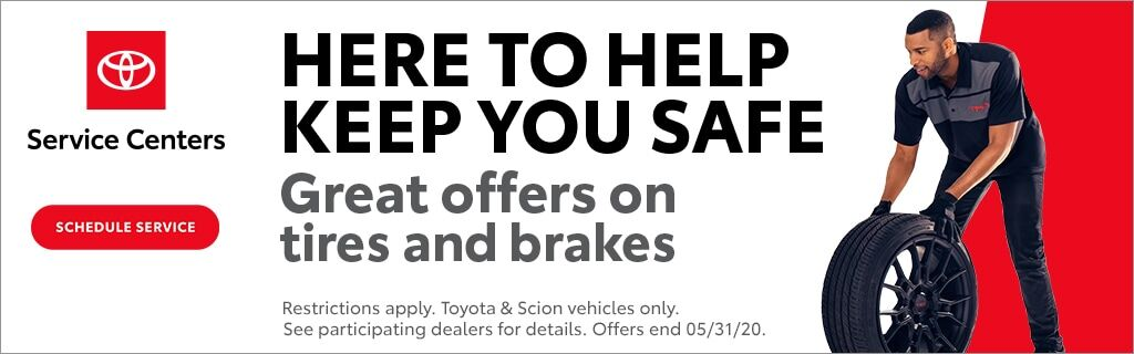 Tire and Brake Offer