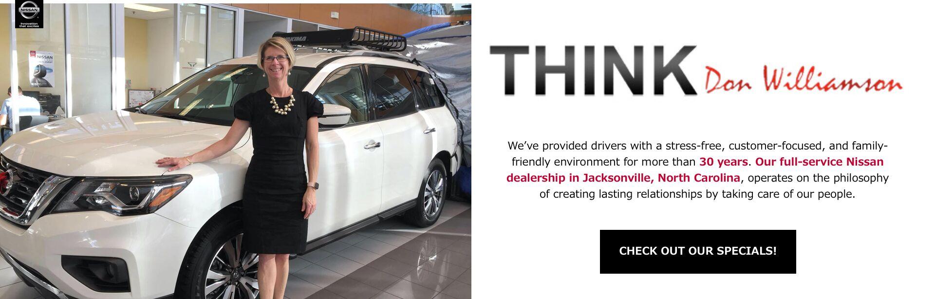 Used Car Dealerships In Jacksonville Nc >> Nissan Dealership Jacksonville Nc Wilmington New Bern