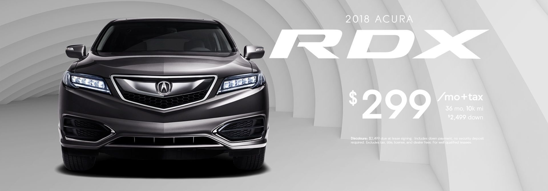 RDX LEASE SPECIAL