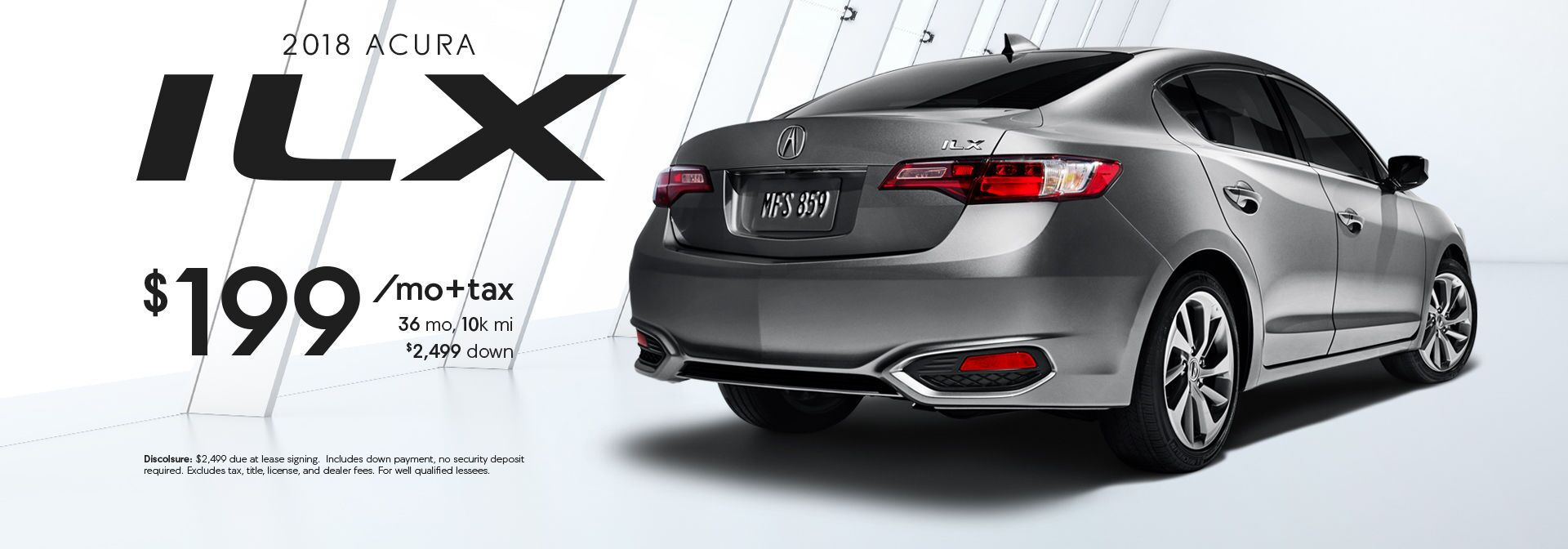 ILX LEASE SPECIAL