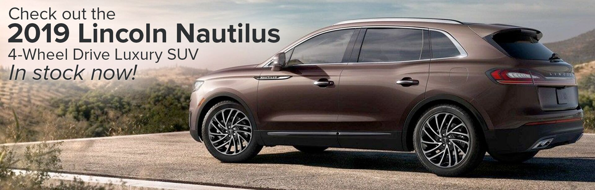 2019 Lincoln Nautilus Now In Stock