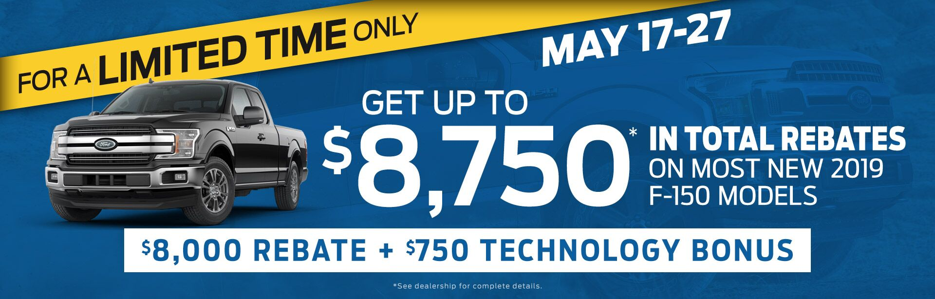 Get Up to 8,750 in Total Rebates