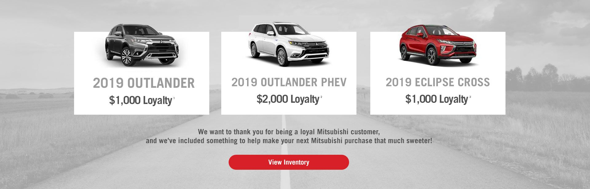 Loyalty Rebate for Crossovers