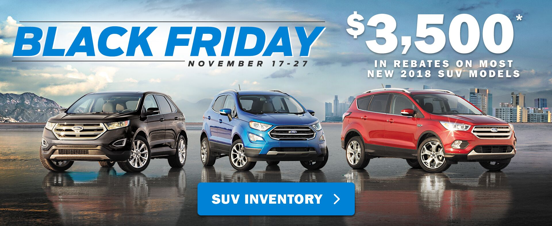 Black Friday - SUV Sale