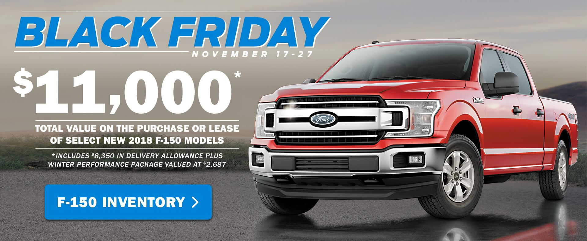 Black Friday - Truck Sale