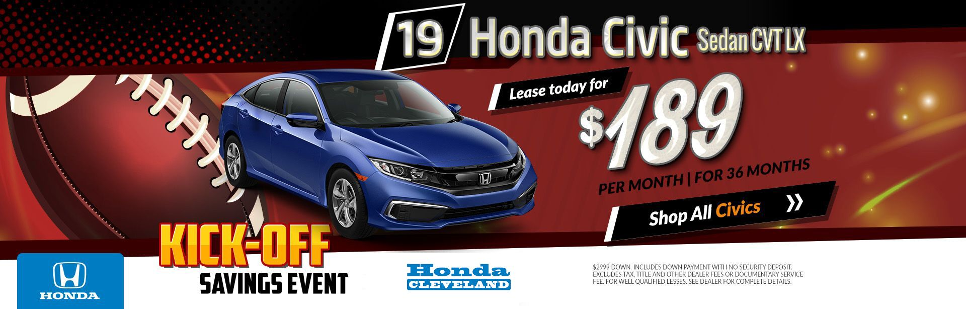 Honda Civic LX Lease