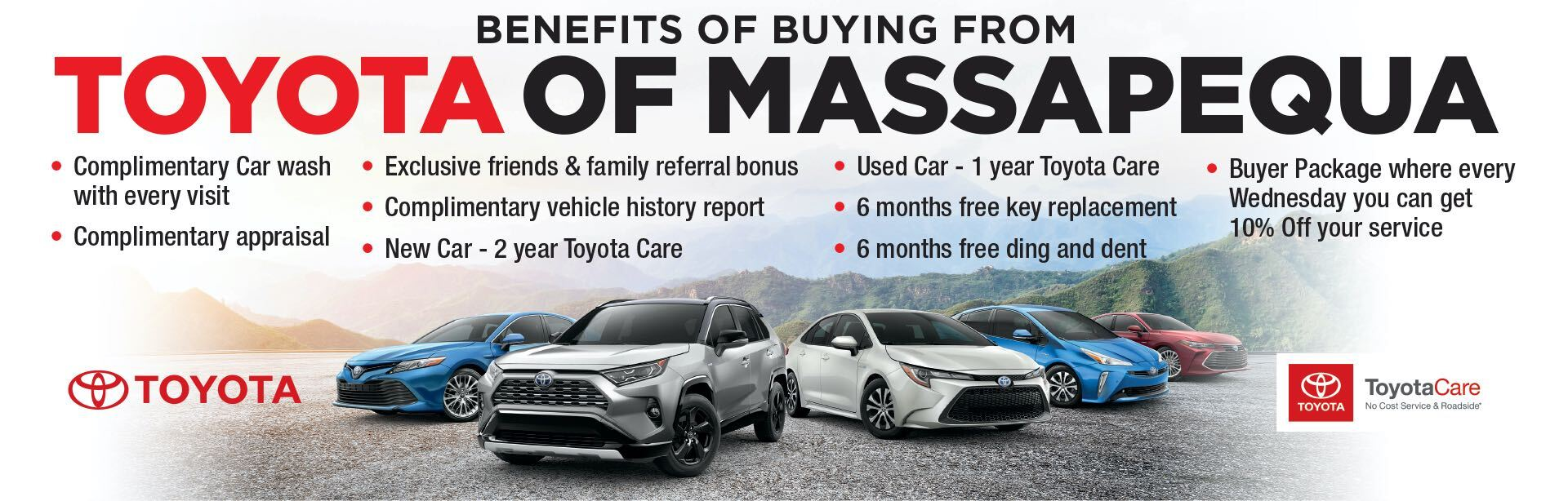 Why Buy from Toyota of Massapequa