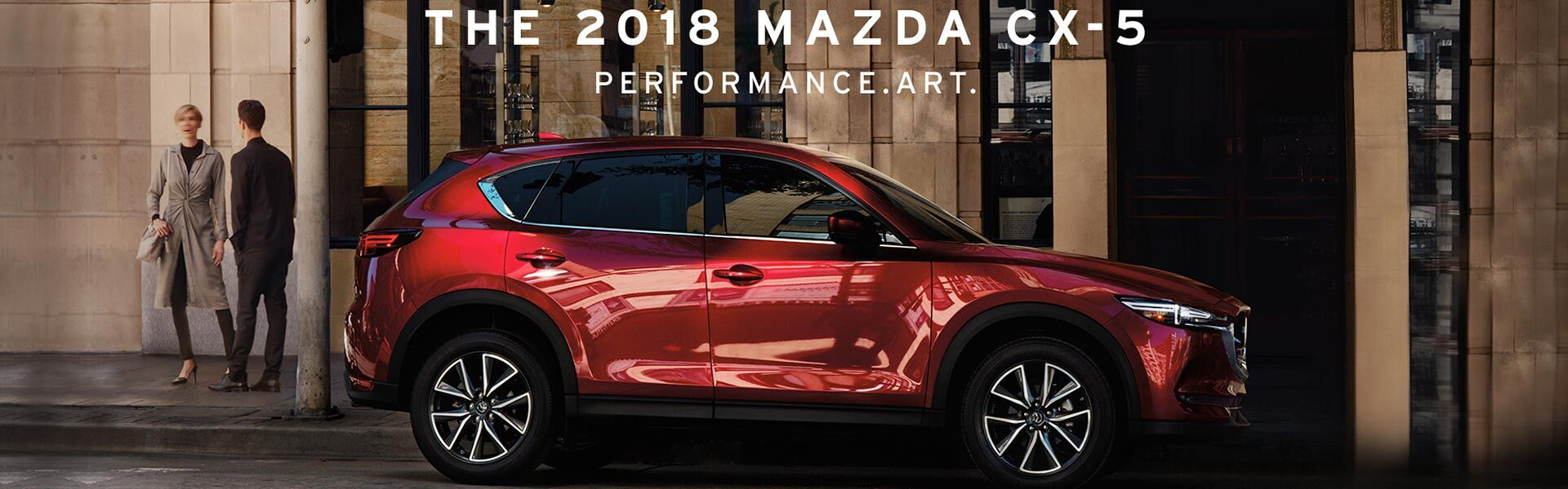 the 2018 Mazda CX-5 at Santa Fe Cars
