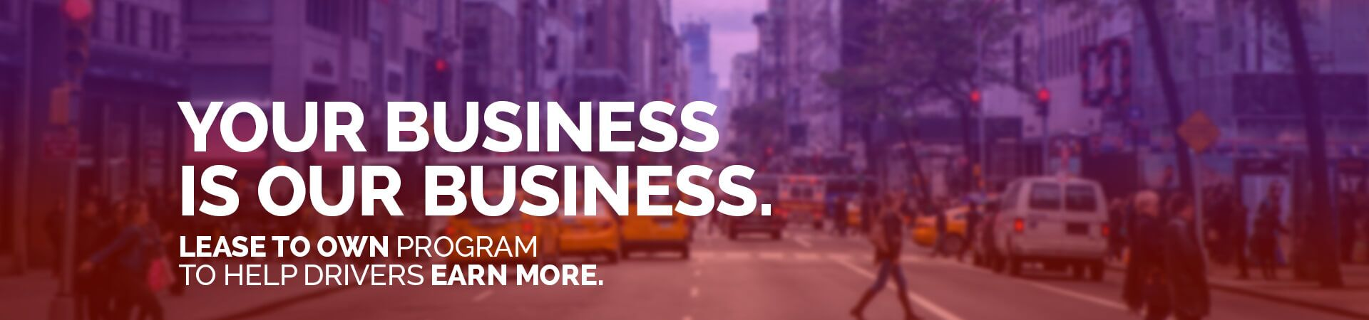 Your Business is Our Business New York Livery Leasing