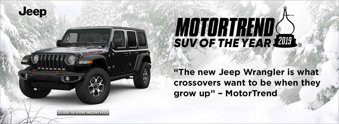Jeep Motor Trend of The Year