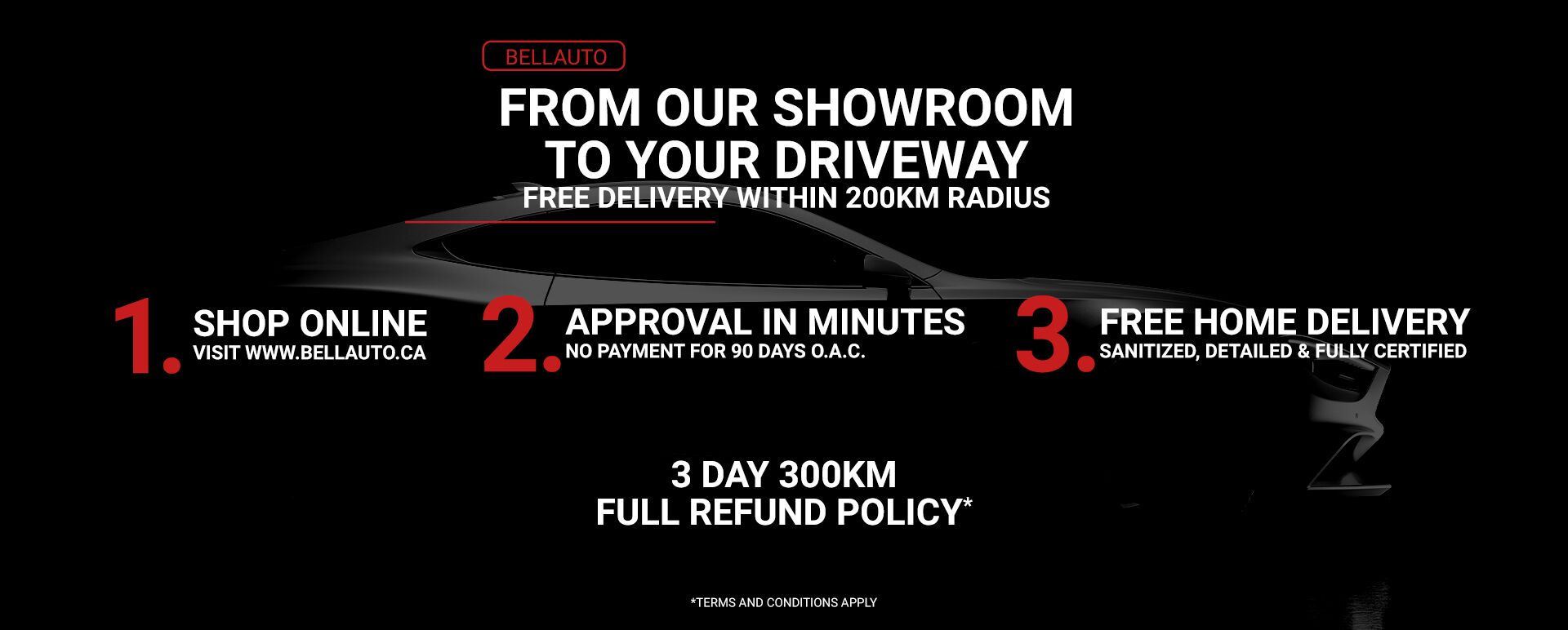 Free Showroom to your Driveway