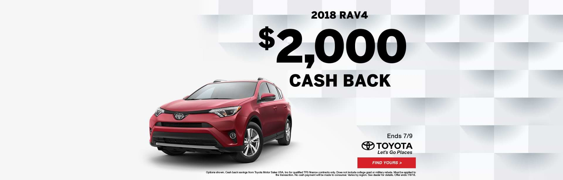 2018 RAV4 at Fallon Toyota