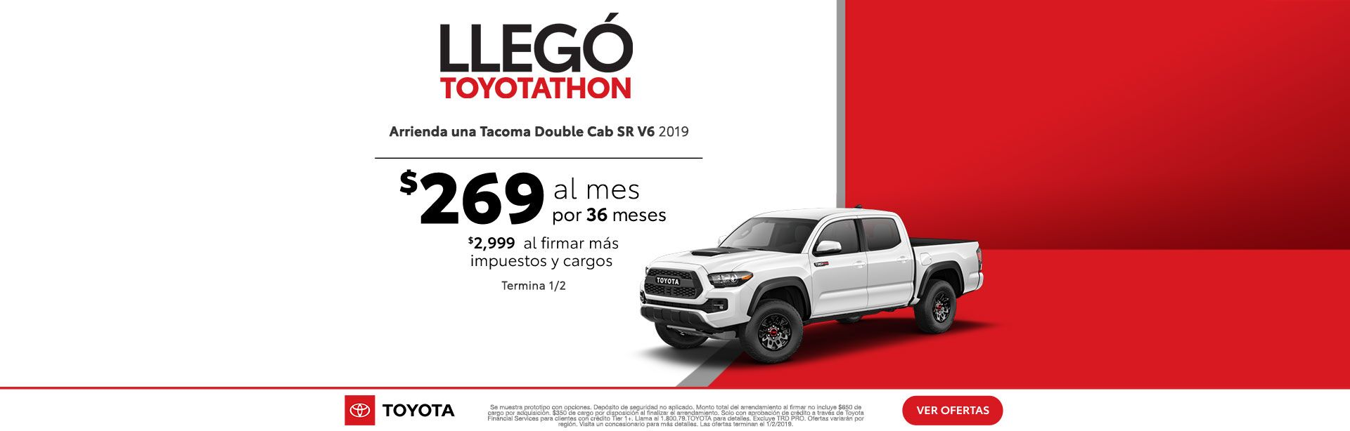 Toyotathon is on Tacoma ESP Dec 2018