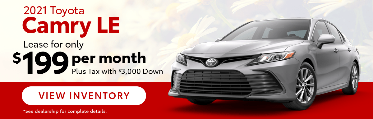 2021 Camry Lease