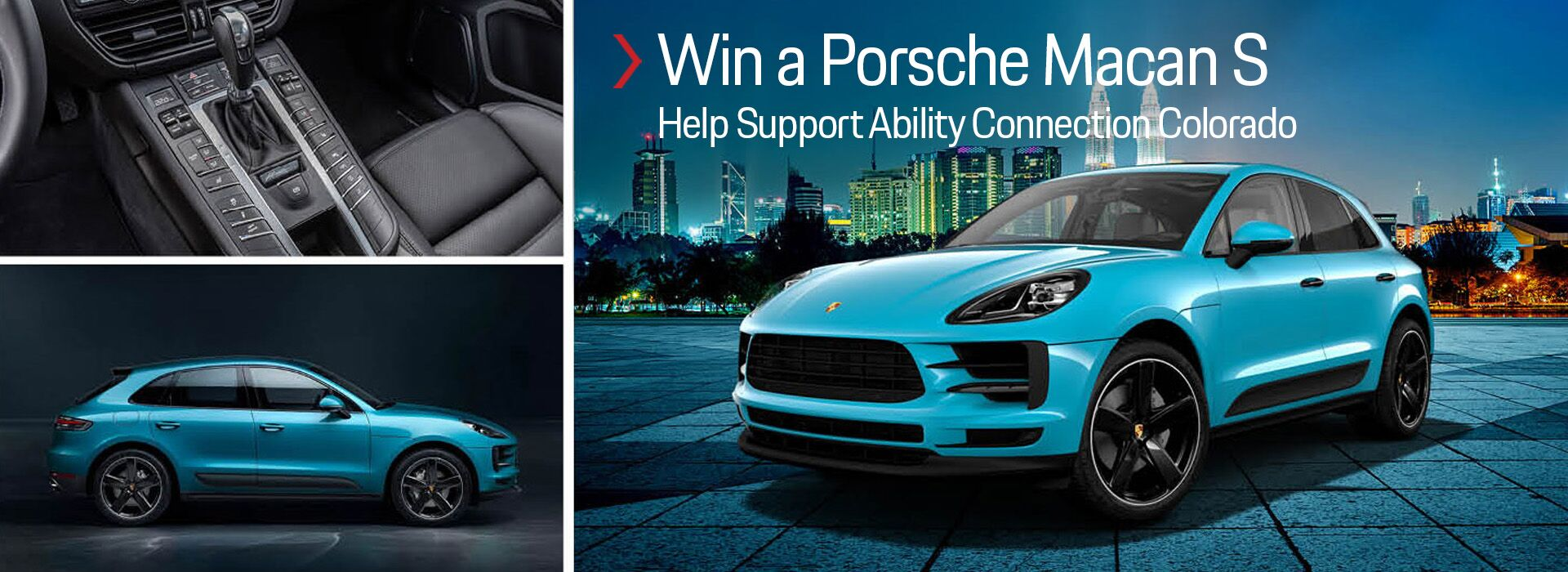 Win a Porsche Macan S and Help Support Ability Connection Colorado