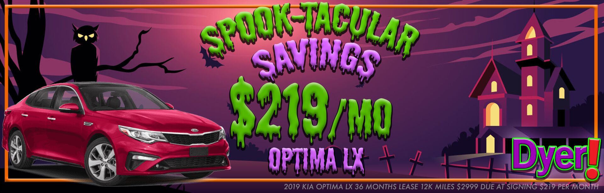Spooktacular Optima