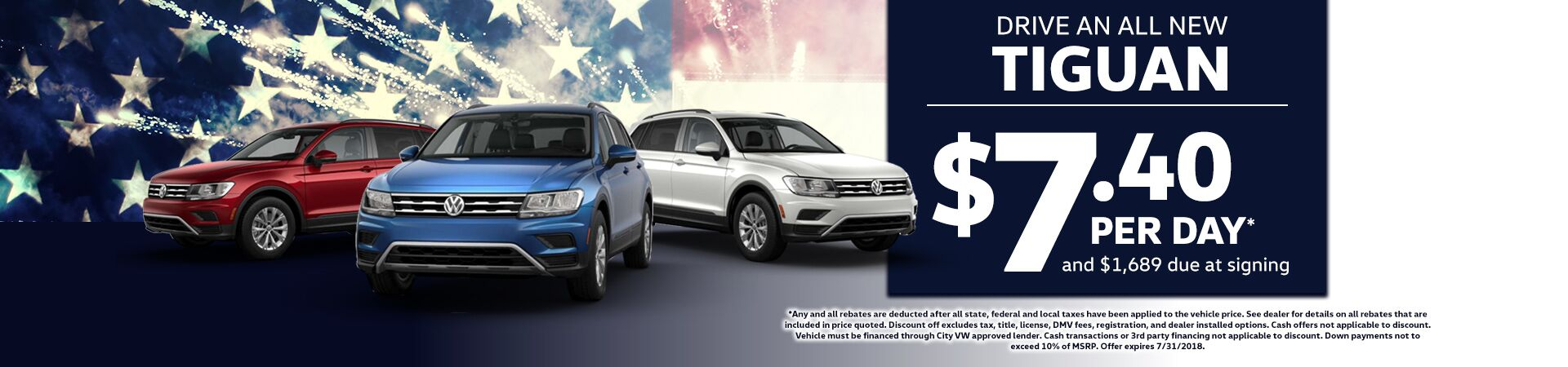 Drive an All New Tiguan