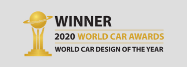 Winner, 2020 World Car Awards, World Car Design of the Year