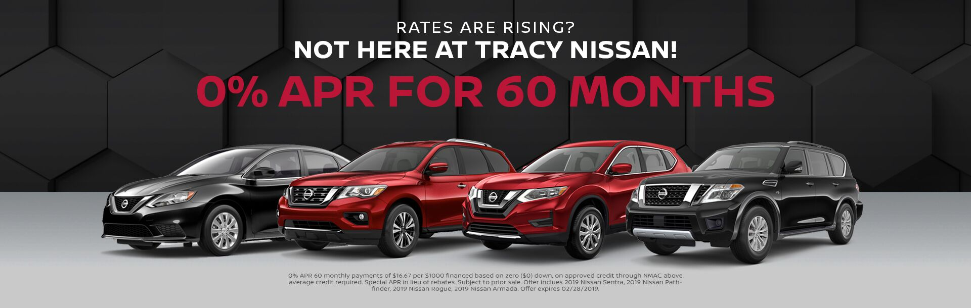 Offers at Tracy Nissan in Tracy, CA