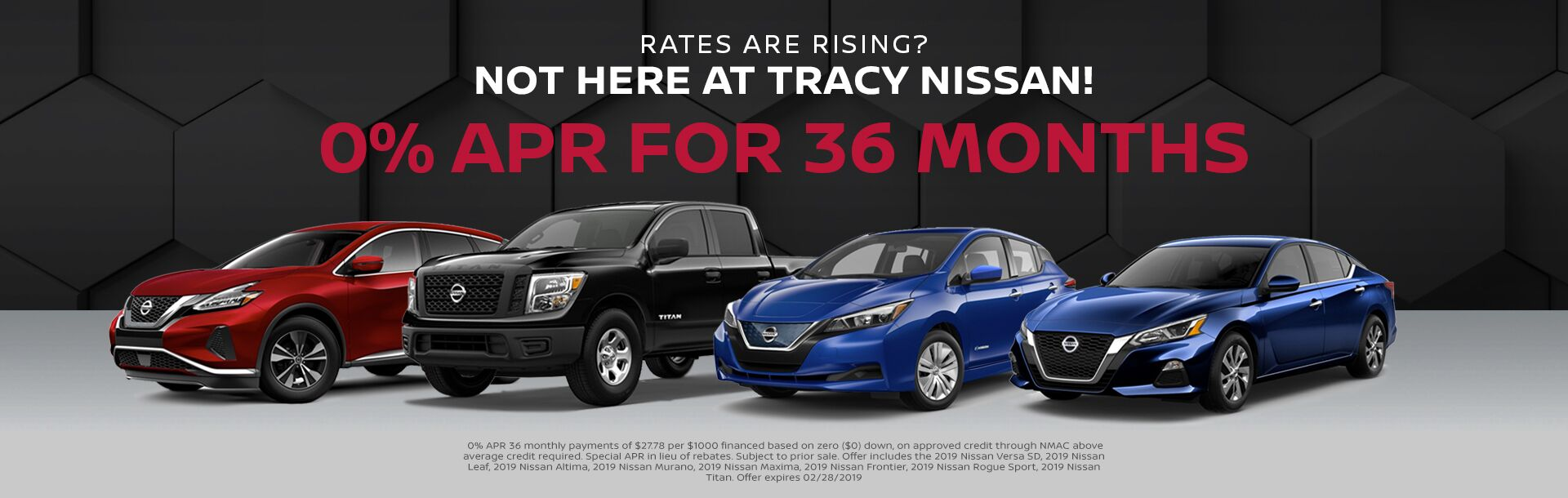Special Offers at Tracy Nissan, Tracy, CA