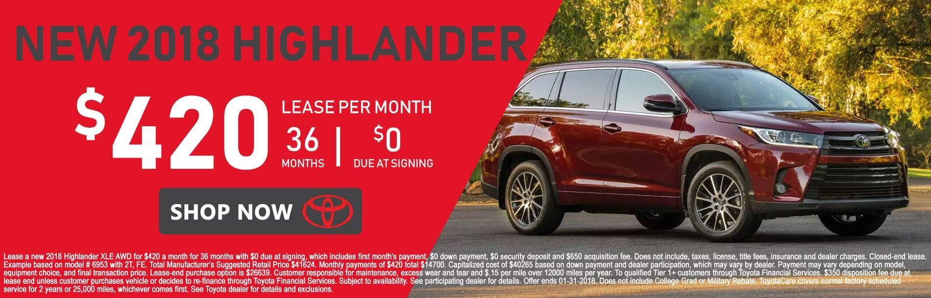 2018 Toyota Highlander at Rochester Toyota