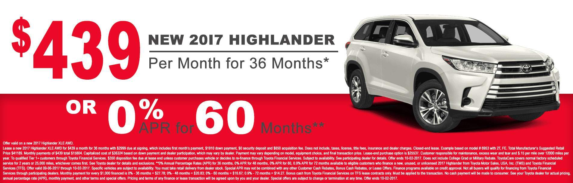 2017 Toyota Highlander at Rochester Toyota