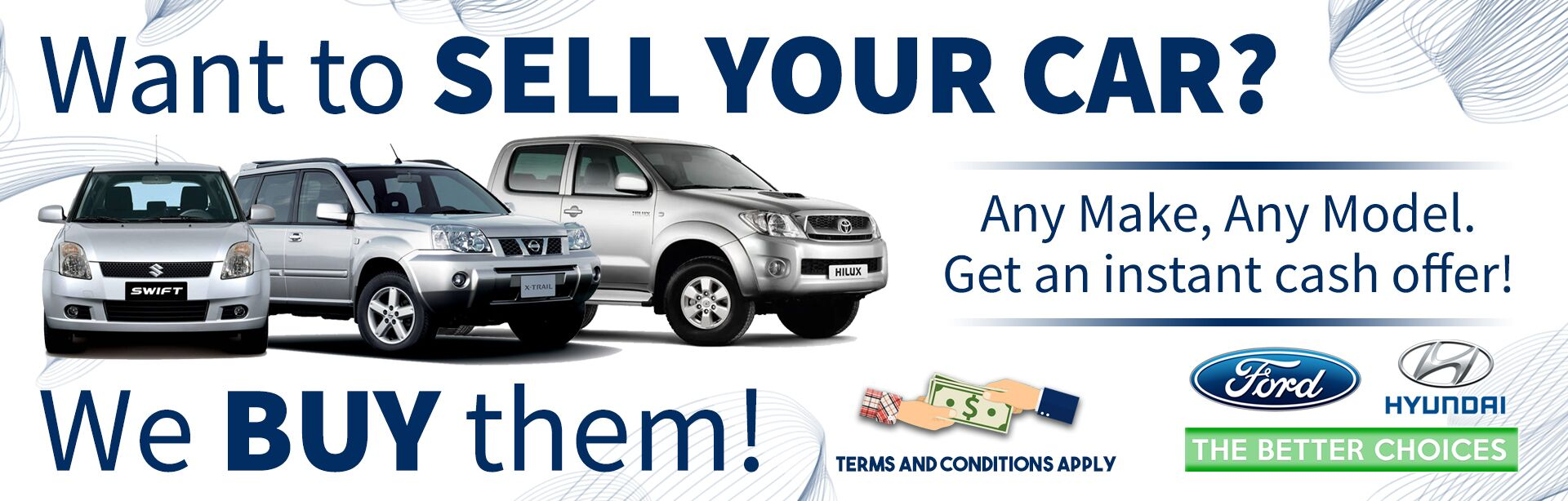 We Buy Cars at Ford Hyundai Samoa