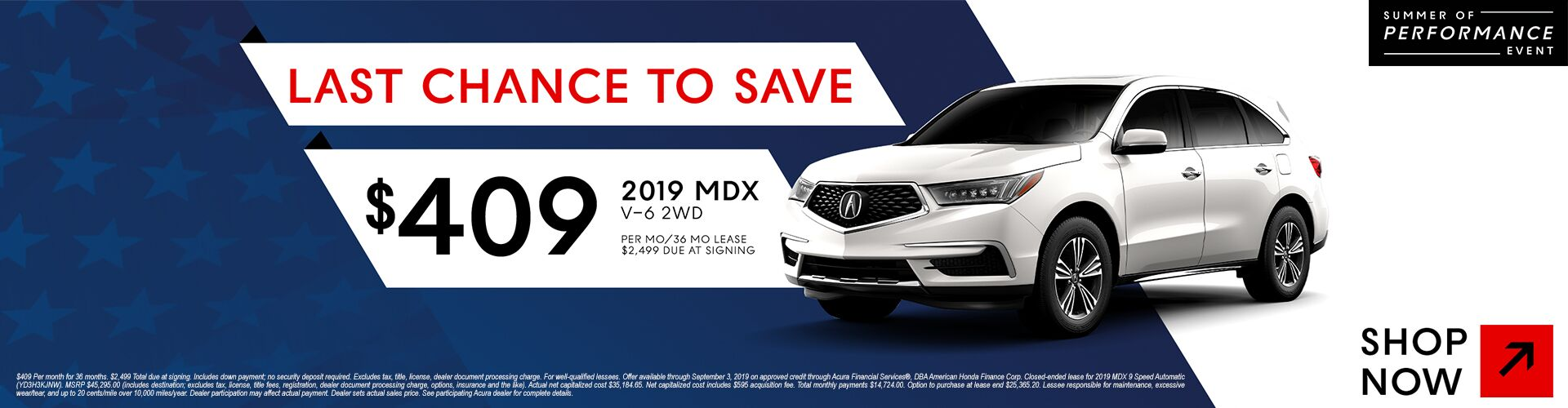 _1920x500_2019 MDX_CA_2WD_19125_Acura_LaborDay_CTROT01