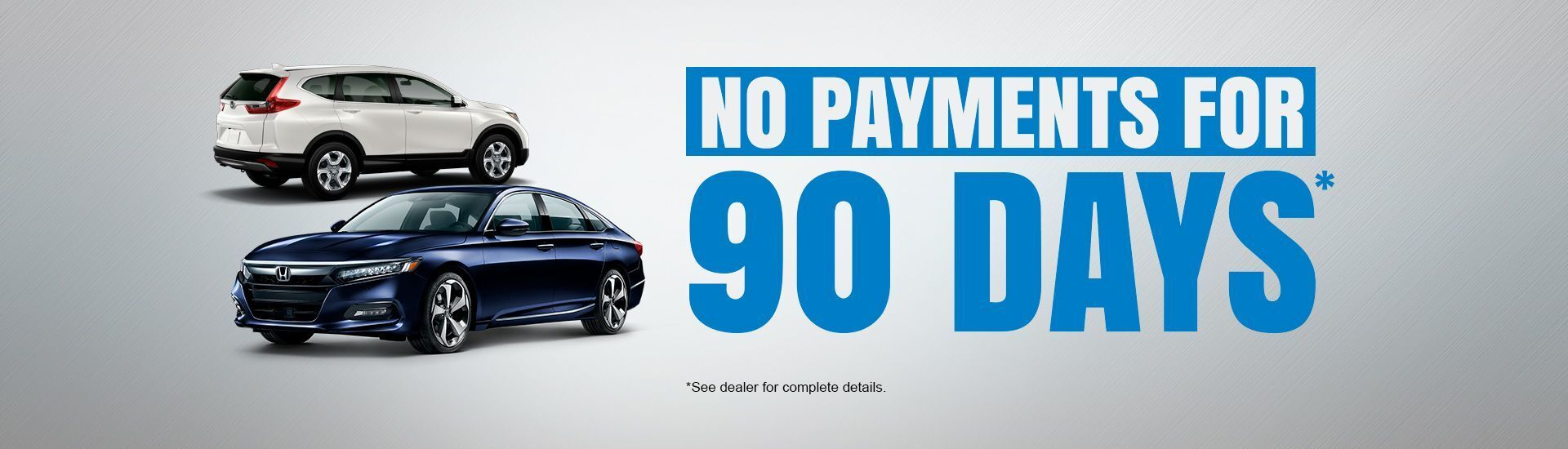90 Days No payments