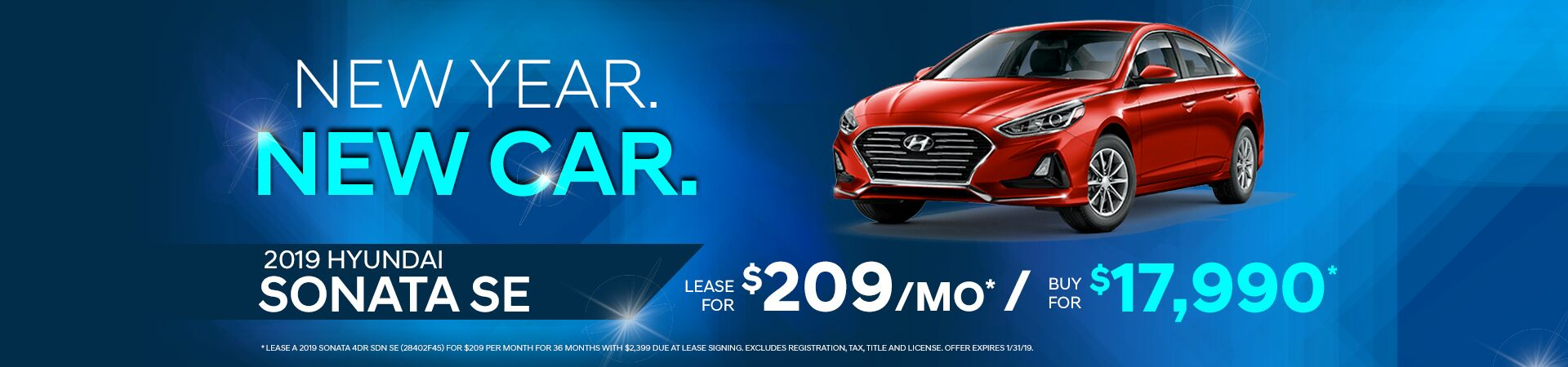 2019 Sonata Offer