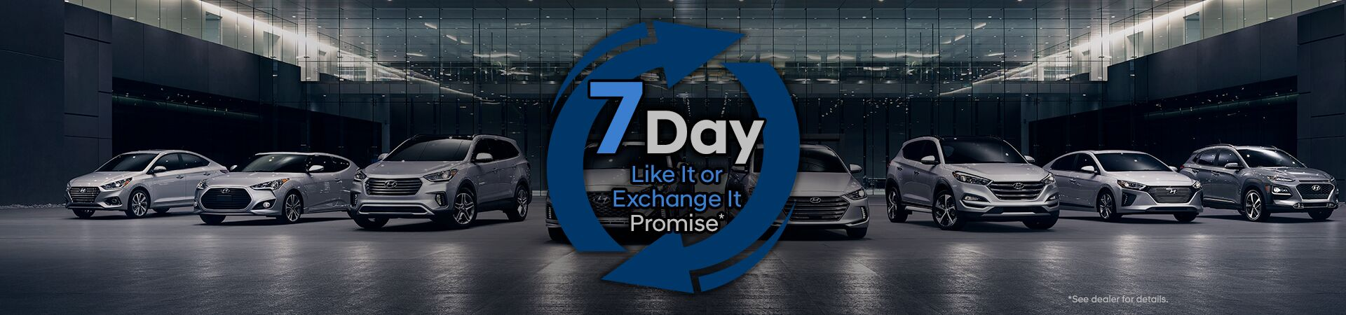 7 Day Vehicle Exchange Program