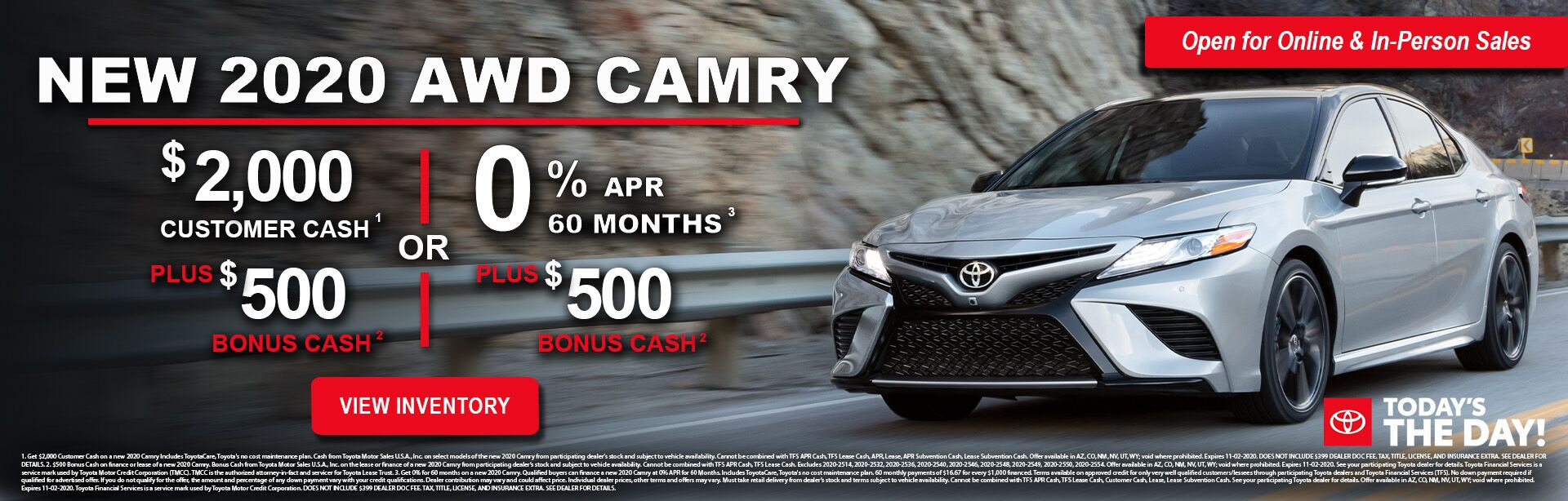 10-2020 Camry Offer
