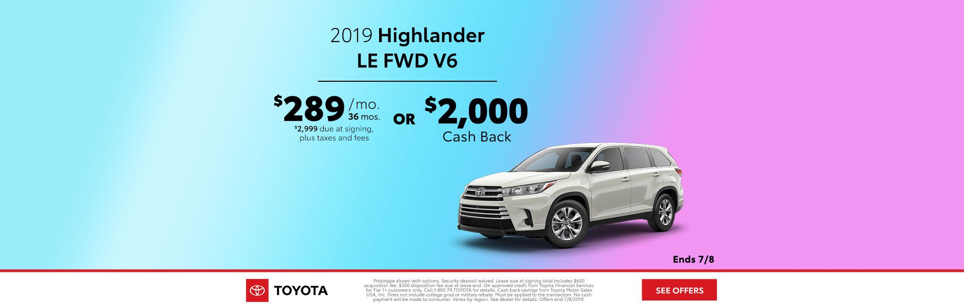 2019 June DEN Highlander