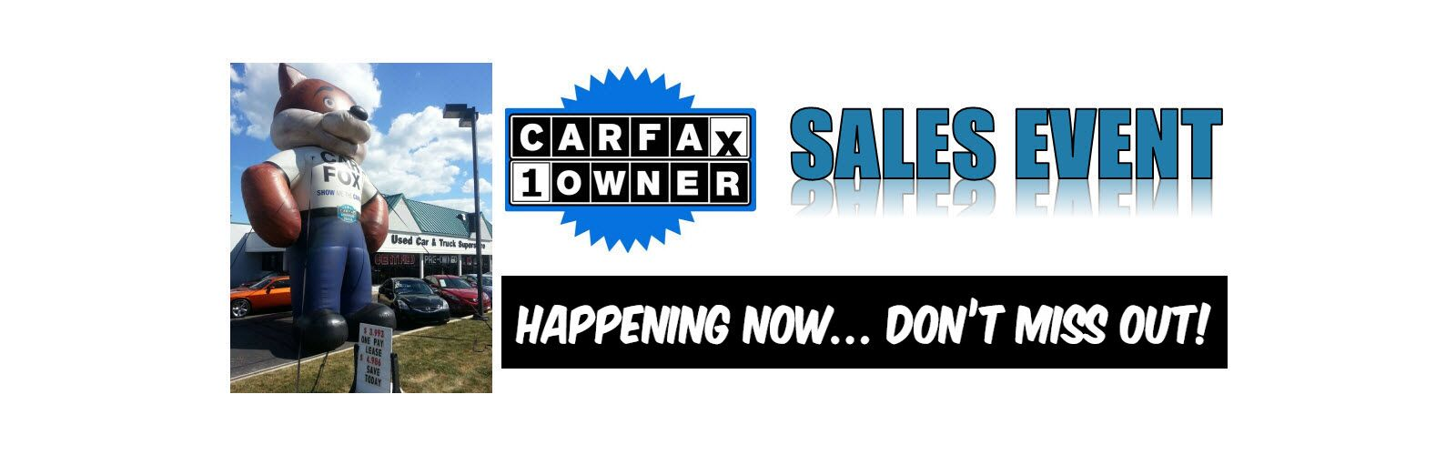 Carfax sales event