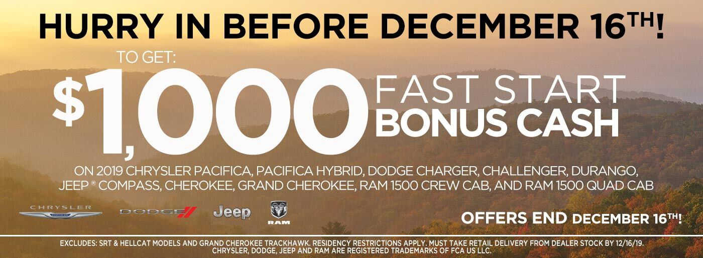 Fast Start Bonus Cash
