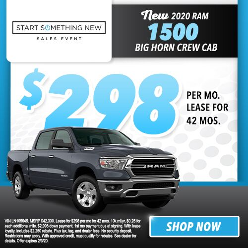 2020 Ram 1500 BIG HORN CREW CAB 4X2 5'7 BOX