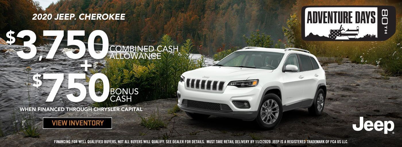 Cherokee Jeep Cash