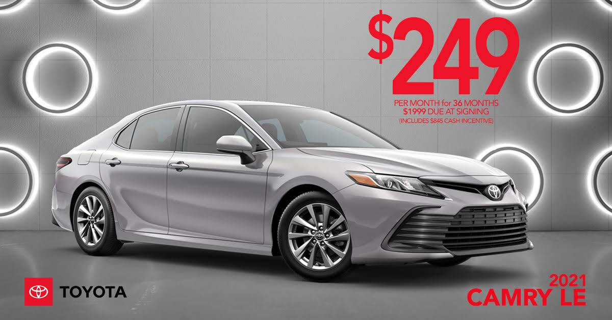 2021Camry LE Lease Offer