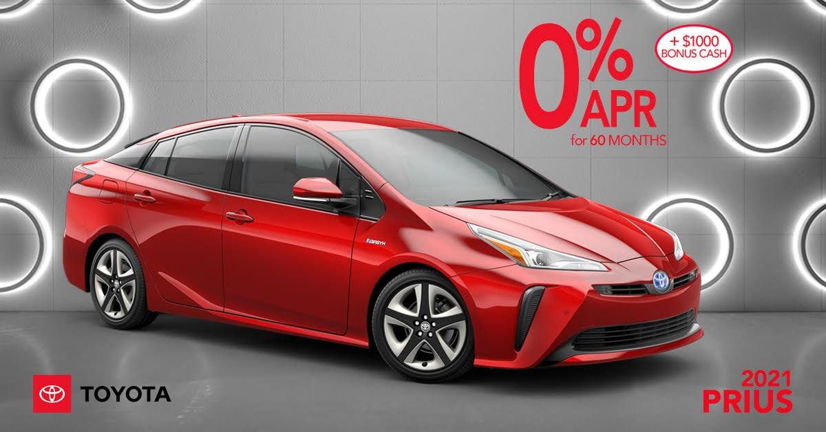 2021 Toyota Prius Offer