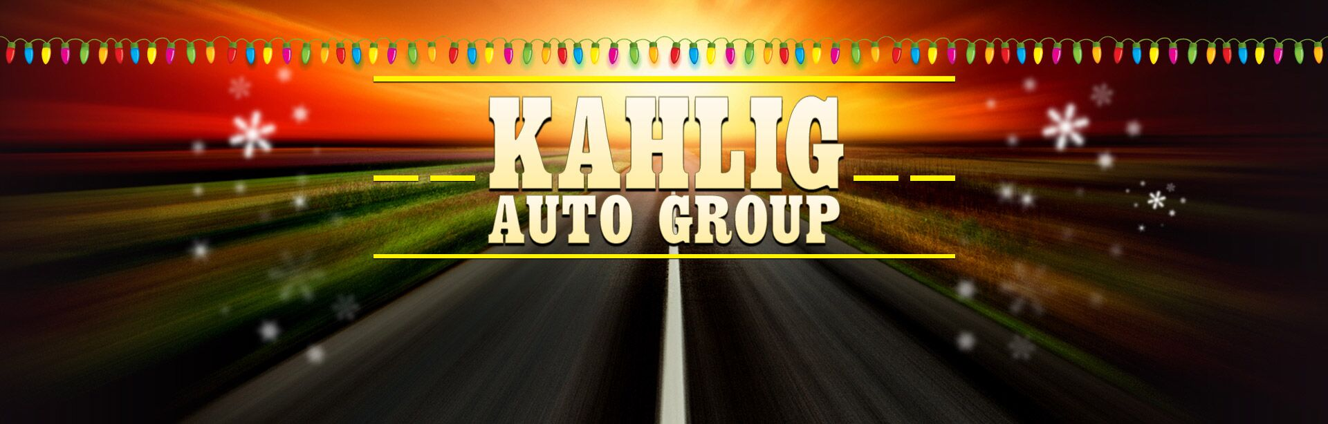 Kahlig Auto Group Holiday