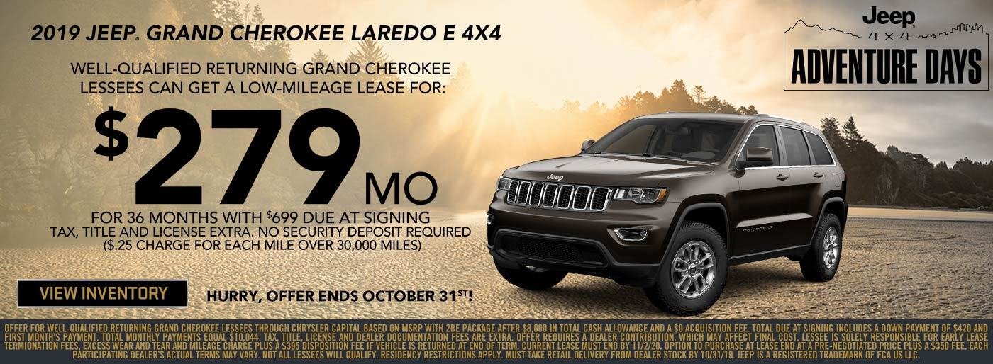 Lease Special for Jeep Grand Cherokee Near Tacoma, WA