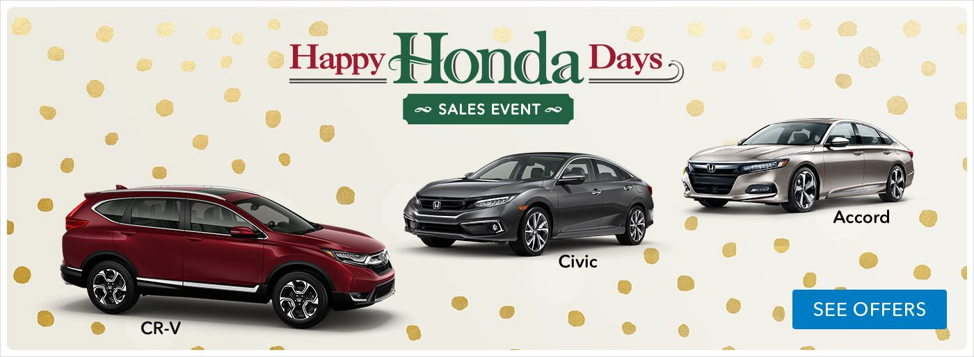 Happy Honda Day Specials in Moses Lake