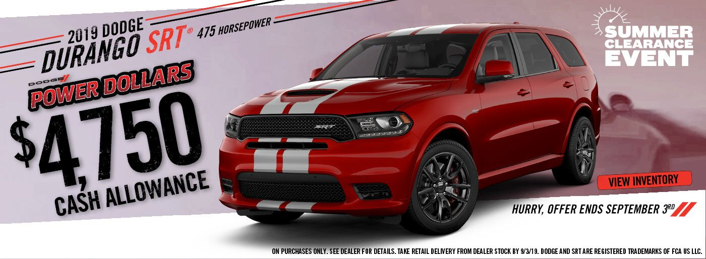 New Dodge Durango Specials