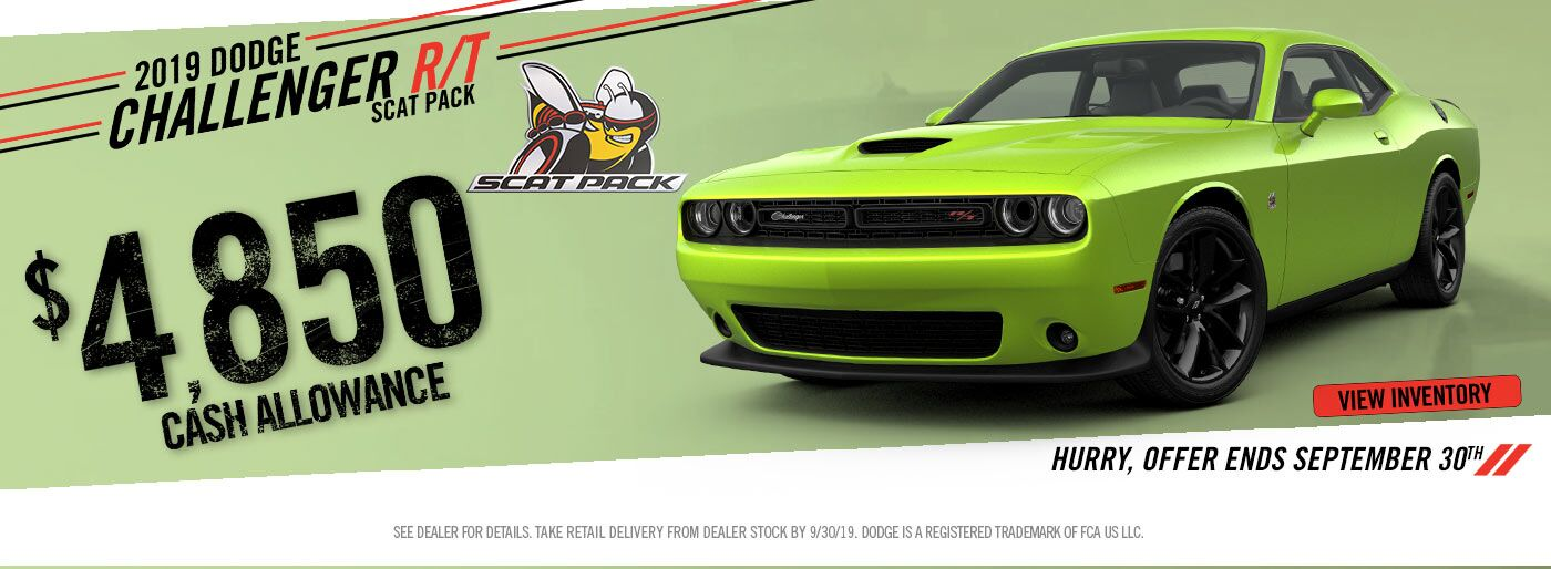 Dodge Challenger Special Offer for Auburn, WA