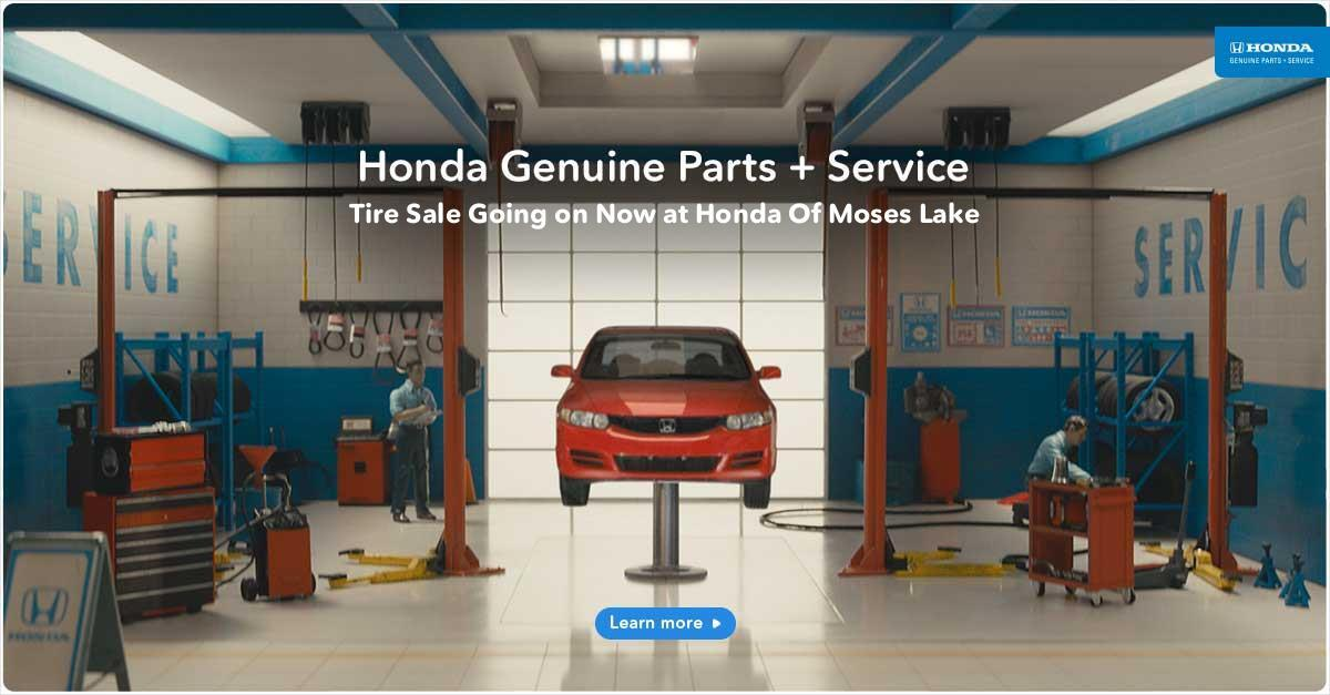 Honda Tire Sale