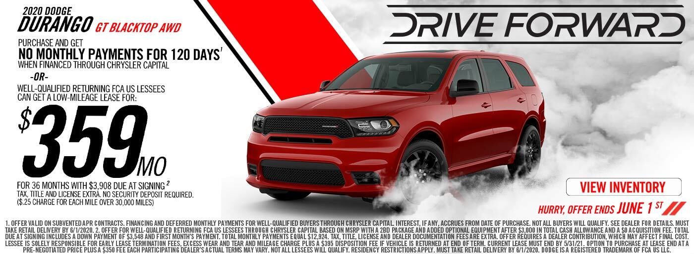 2020 Dodge Durango GT Blacktop AWD
