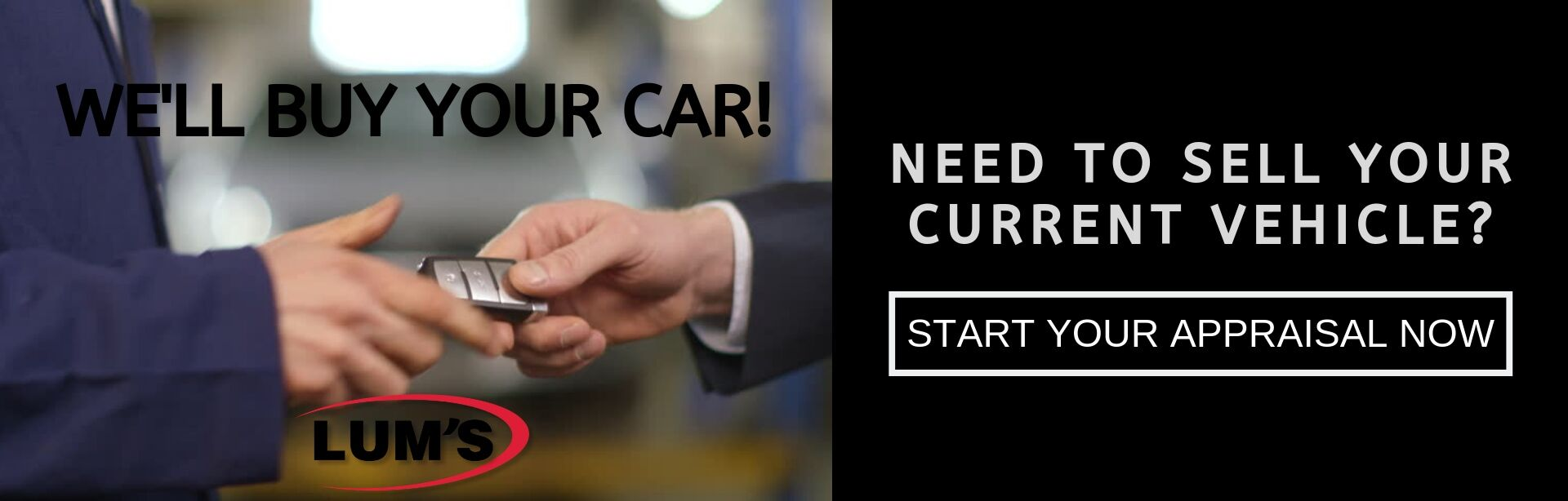 Sell Your Current Vehicle