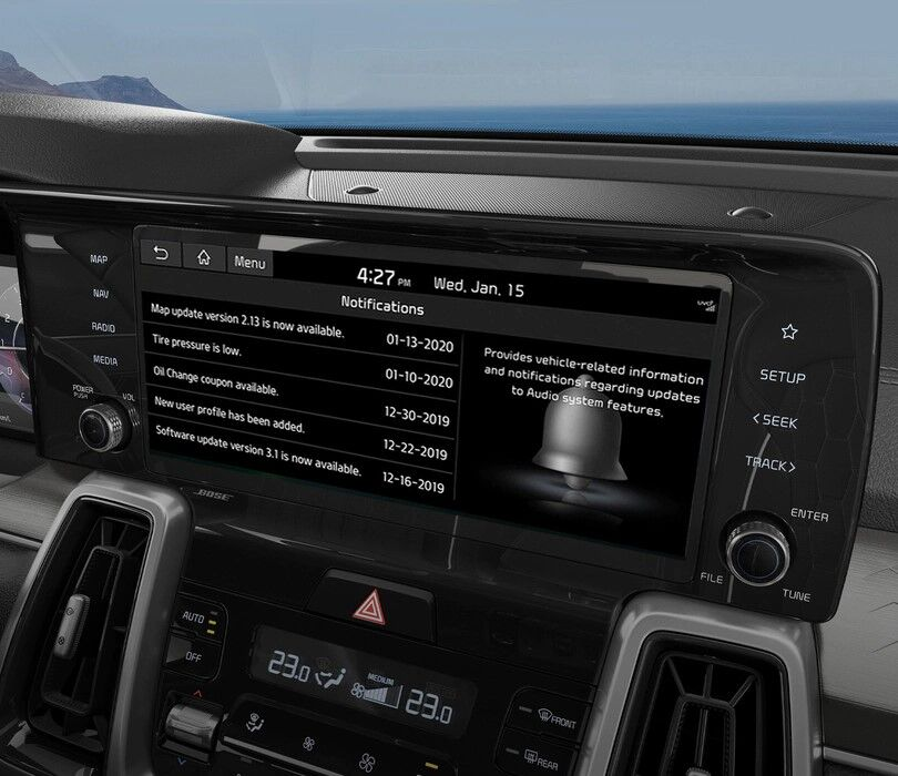 3-In-Vehicle Notification Center